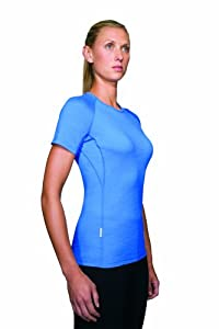 Icebreaker Women's Bodyfit150 Ultralite Short Sleeve Atlas T-Shirt,Nordic,Small
