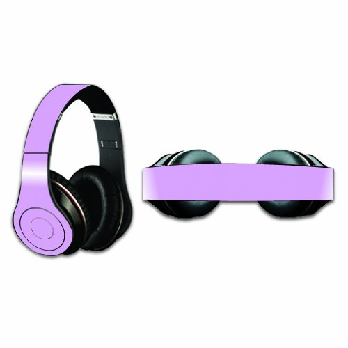 Mightyskins Protective Vinyl Skin Decal Cover For Dr. Dre Beats Studio Headphones Sticker Skins Glossy Purple