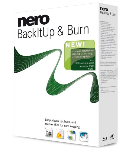 Nero Back It Up & Burn (PC CD) [import anglais]