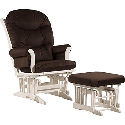 Outstanding Dutailier Sleigh Glider Multiposition Recline And Ottoman Short Links Chair Design For Home Short Linksinfo