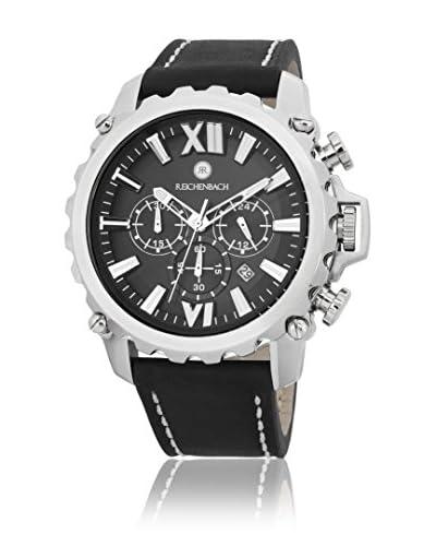 Reichenbach Reloj de cuarzo Man Grimm Negro 51 mm