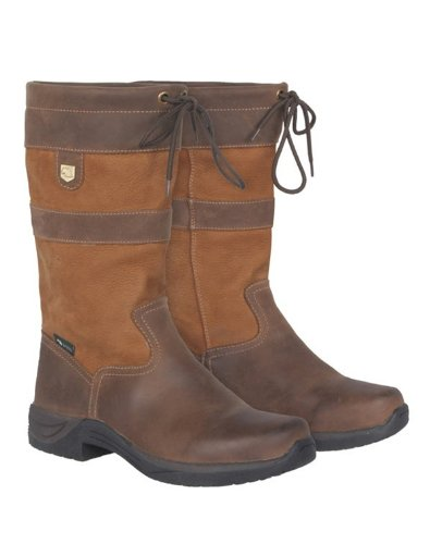 Dublin Mid River Boots Brown Ladies 9.5