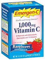 Emergen-C Raspberry (10 packets) by Alacer Corp.
