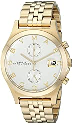Marc by Marc Jacobs Women's MBM3379 Gold-Tone Stainless Steel Bracelet Watch