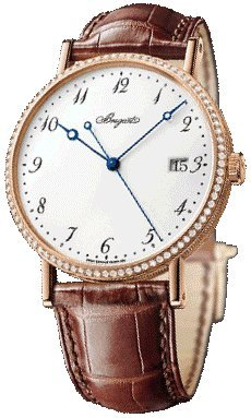 Breguet Classique Automatic Men's Rose Gold Diamond Watch 5178BR/29/9V6.D000