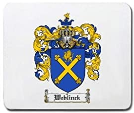 Weblinck Family Shield / Coat of Arms Mouse Pad