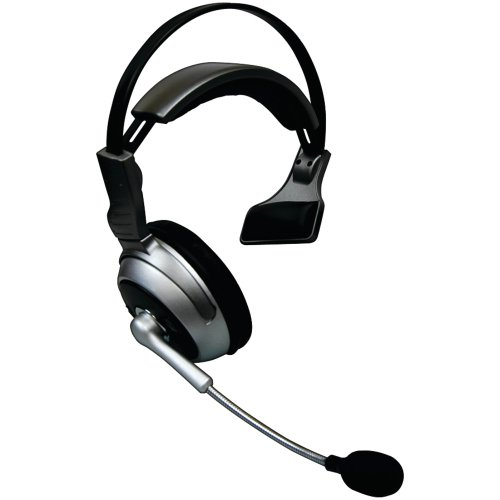 Cellular Innovations Lyte Comm Pro Boom Noise Cancelling Bluetooth Headset For Cellphone - Black