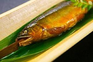 【希少】子持ち天然鮎の甘露煮 (サイズ10cm~16cm)×10尾