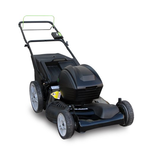 Solaris SP21HB 21-Inch 24 Volt Cordless Self Propelled FWD Bag/Mulch/Side Discharge Cordless Lawn Mower
