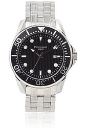 Rudiger Men's R2000-04-007 Chemnitz Black Luminous Watch