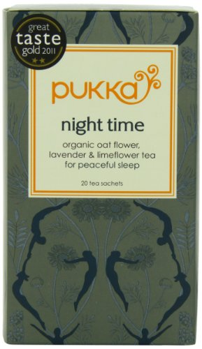 Pukka Organic Teas, Night Time, 20 Count (Pack Of 6)