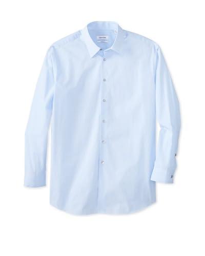 Calvin Klein Men's Regular Fit Point Collar Dress Shirt