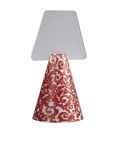 Emporium Lámpara De Mesa Rojo
