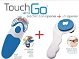 Touch and Go Electric Can / Jar Opener with Bottle Opener (1040) One touch, no sharp edges.