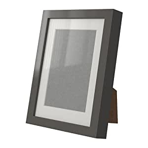 ikea ribba picture frame glass with passe partout for 18 x