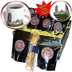 Vacation Spots - Tower Of Pisa Italy - Coffee Gift Baskets - Coffee Gift Basket