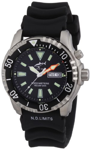 Chris Benz Men's Quartz Watch CB-1000H with Rubber Strap
