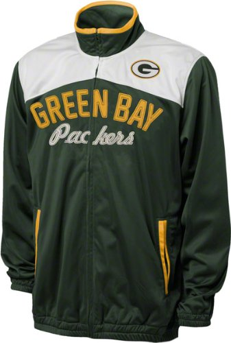 NFL Green Bay Packers Men's Mvp Track Jacket, X-Large, Hunter Green at Amazon.com