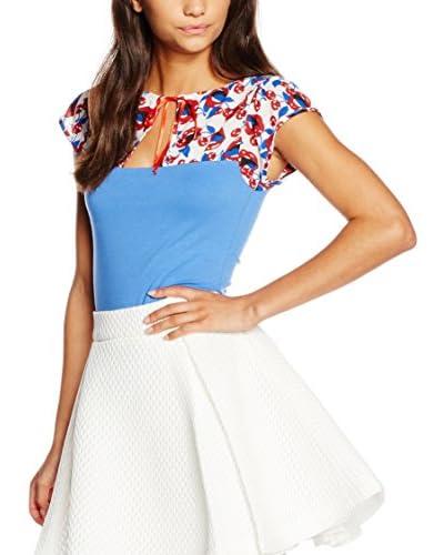 Fornarina T-Shirt Manica Corta Noelle [Azzurro]
