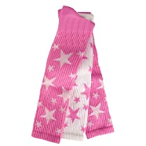 Red Lion Pair and Spare Star Mix Or Match Athletic Socks (Pale Pink / White - Small)