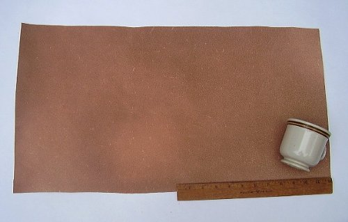 Leather Side Piece Veg Tan Split Medium Weight 12 X 24 Inches 2 Square Feet