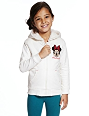 Pure Cotton Minnie Mouse Hooded Top