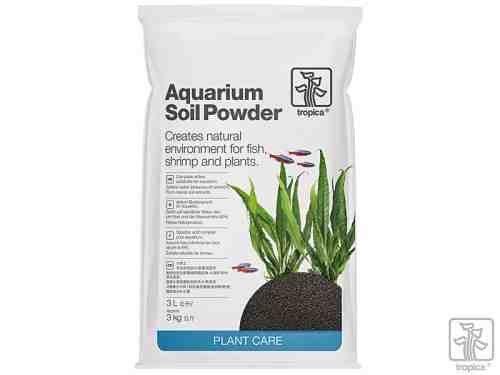 Aquarium soil powder 3 liter for Gartenteich algenfrei halten