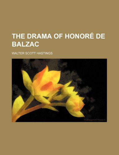 The drama of Honoré de Balzac