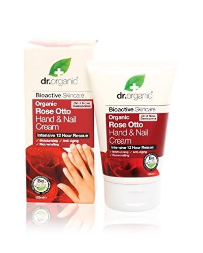 DR ORGANIC Crema de Manos Rosa De Damasco 125 ml