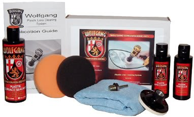 Wolfgang Kit - Plastik Lens Cleaning System