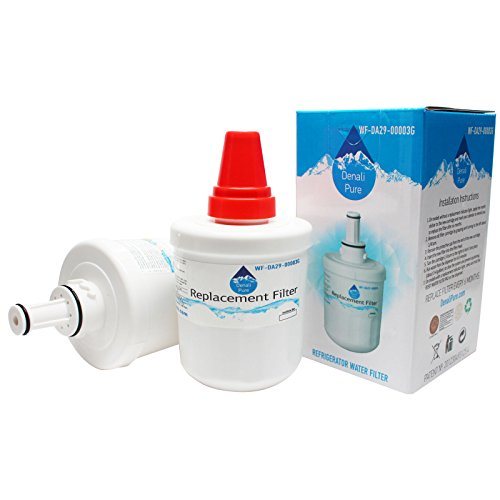 2-Pack Replacement Samsung RF266AEBP Refrigerator Water Filter - Compatible Samsung DA29-00003G, Samsung DA29-00003B, Samsung DA29-00003A Fridge Water Filter Cartridge (Samsung Water Filter Rf266aebp compare prices)