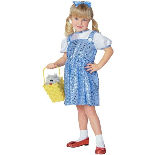 Wizard of Oz - Lil Dorothy (sequin) Child Halloween Costume