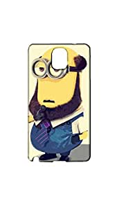 Minion With Beard Stylish Mobile Case/Cover For Samsung Galaxy NOTE 3