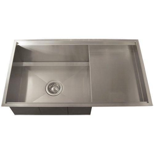 ... -gauge Kitchen Sink with Food Prep Area:Best Kitchen Sinks Undermount
