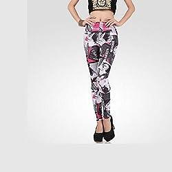 Sxy! Women's Blended Leggings (SXGZ14043_Black_Small)