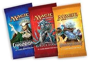 2 Player Booster Draft Set of Magic the Gathering MTG - Dragon's Maze / Gatecrash / Return to Ravnica Booster Draft Packs