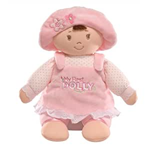Gund 31cm My First Dolly Brunette Soft Toy for Newborn and Above