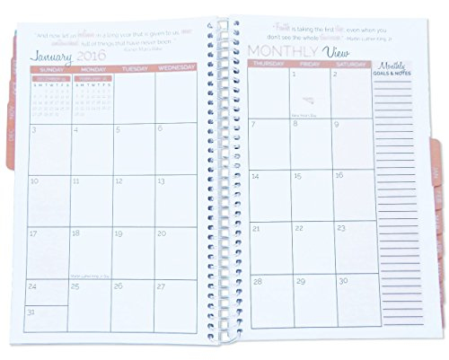 Bloom Daily Planners 2016-17 Academic Year Daily Planner Goal ...