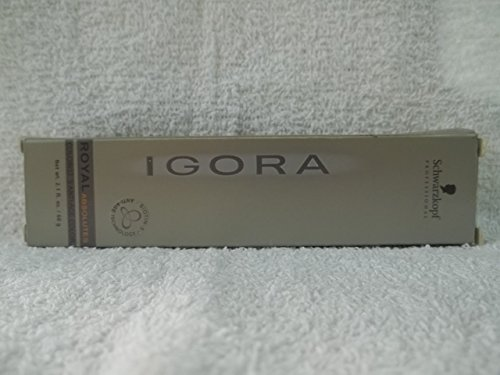 schwarzkopf igora royal absolutes colorists anti age color tube 6 60 by schwarzkopf professional - Coloration 60