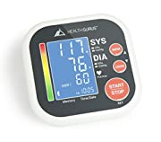 Balance Professional Upper Arm Blood Pressure Monitor with Easy-to-Read Backlit LCD, One-Size-Fits-All Cuff and Nylon Storage Case by Greater Goods
