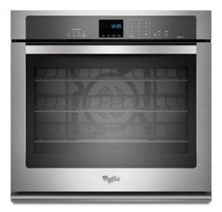 Whirlpool Wos92ec0as 30 Stainless Steel Electric Single