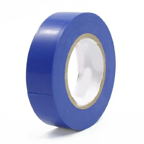 Water & Wood Insulation Adhesive Pvc Electrical Tape Roll Blue 14Meter Long