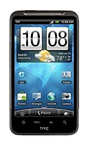 HTC Inspire 4G Unlocked Phone with 3G Support, 8 MP Camera, GPS, Wi-Fi and Android OS - Unlocked Phone - US Warranty - Black