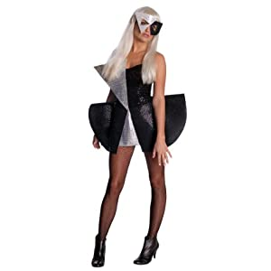 Sexy Black Sequin Lady Gaga Costume Outfit