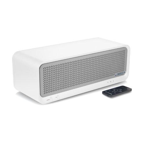 Jlab Bouncer Premium Home Bluetooth Speaker (White)