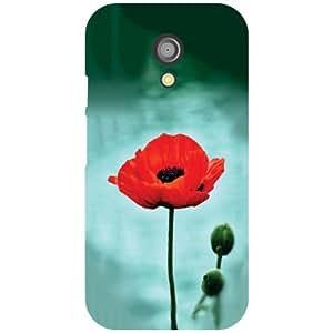 Printland Rose Phone Cover For Motorola Moto G (2nd Gen)