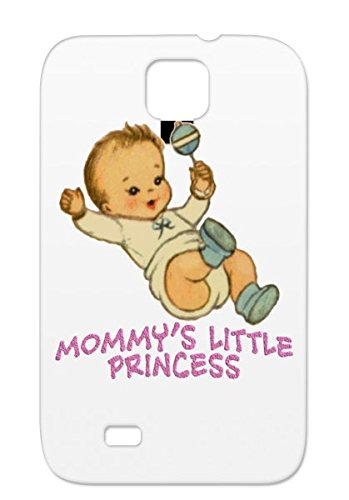Shock-Absorbent Mommys Little Princess Yellow Grandpa Babys Babies Mommy Babys Apparel Grandma Baby Clothes Baby Daddy Family Bibs Tpu For Sumsang Galaxy S4 Protective Hard Case front-1003930