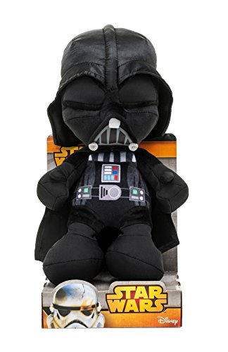 Star Wars 1400615 - Darth Vader Peluche in Unique Velboa, 25 cm in Displaybox