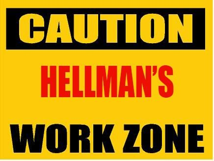 6-caution-hellman-work-zone-magnet-for-any-metal-surface