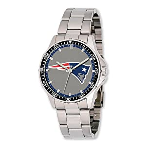 Mens NFL New England Patriots Coach Watch by Jewelry Adviser Nfl Watches